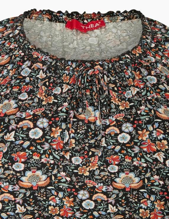Thea Langarmshirt mit Blumemuster | ADLER Mode Onlineshop