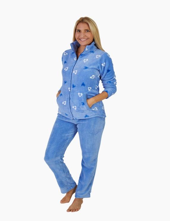 NORMANN Loungewear-Anzug mit Herzen   ADLER Mode Onlineshop
