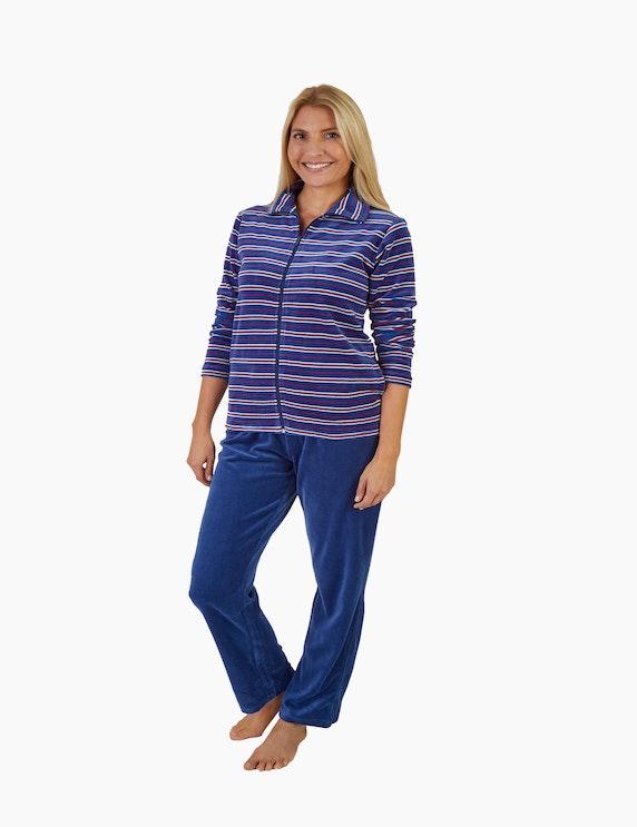 NORMANN gestreifter Loungewear-Anzug   ADLER Mode Onlineshop