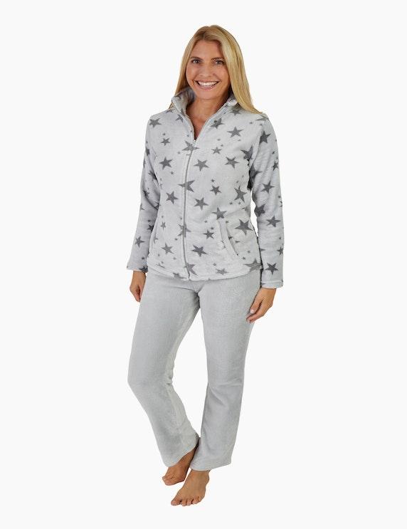 NORMANN Loungewear-Anzug mit Sternchen   ADLER Mode Onlineshop