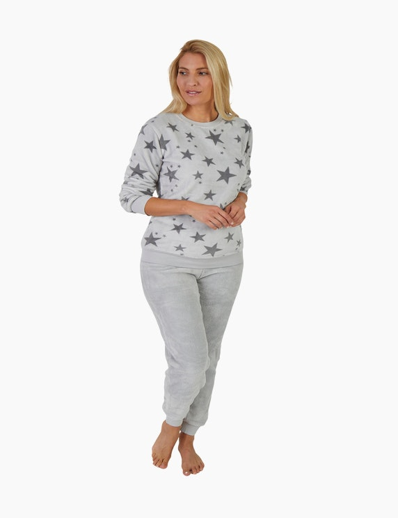NORMANN Loungewear-Anzug mit Sternen   ADLER Mode Onlineshop