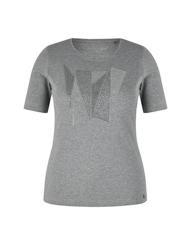 Produktbild zu T-Shirt mit Frontmotiv von Roses & Angels