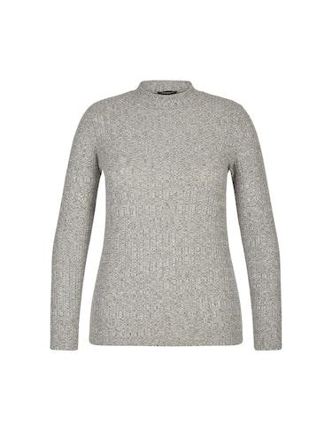 Produktbild zu Basic Pullover mit Rippstruktur von Bexleys woman