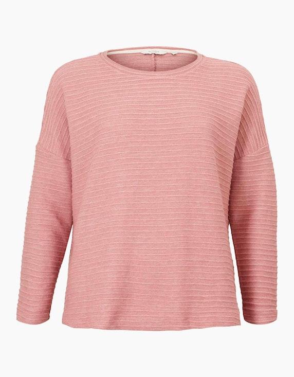 Tom Tailor Langarmshirt mit Fledermausärmeln | ADLER Mode Onlineshop