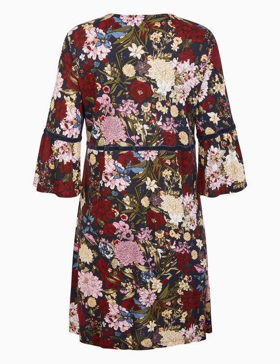 Thea Kleid mit Allover-Blumenmuster | ADLER Mode Onlineshop