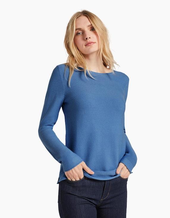 Tom Tailor Pullover aus reiner Baumwolle | ADLER Mode Onlineshop