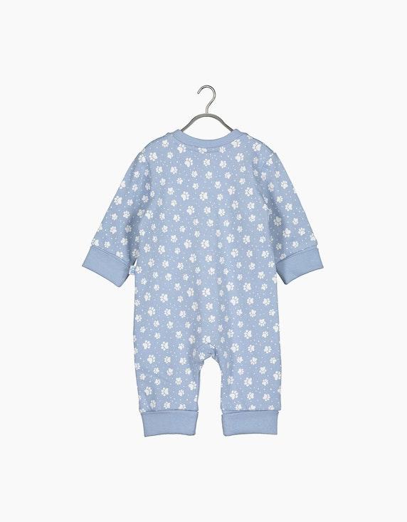 Blue Seven Baby Boys Sweat-Strampler mit Pfoten - Newborn | ADLER Mode Onlineshop