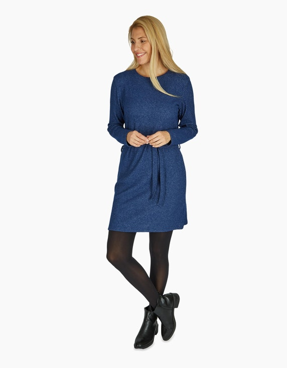 Bexleys woman Strickkleid mit Bindegürtel | ADLER Mode Onlineshop
