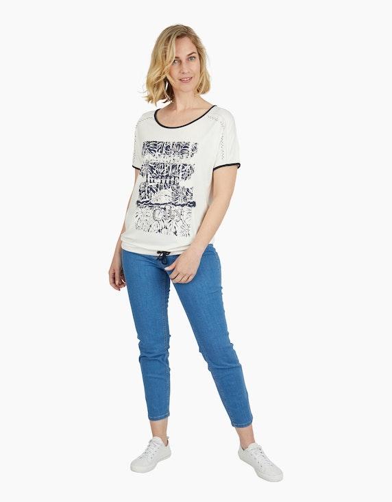 Steilmann Woman Shirt mit Tunnelzugsaum | ADLER Mode Onlineshop