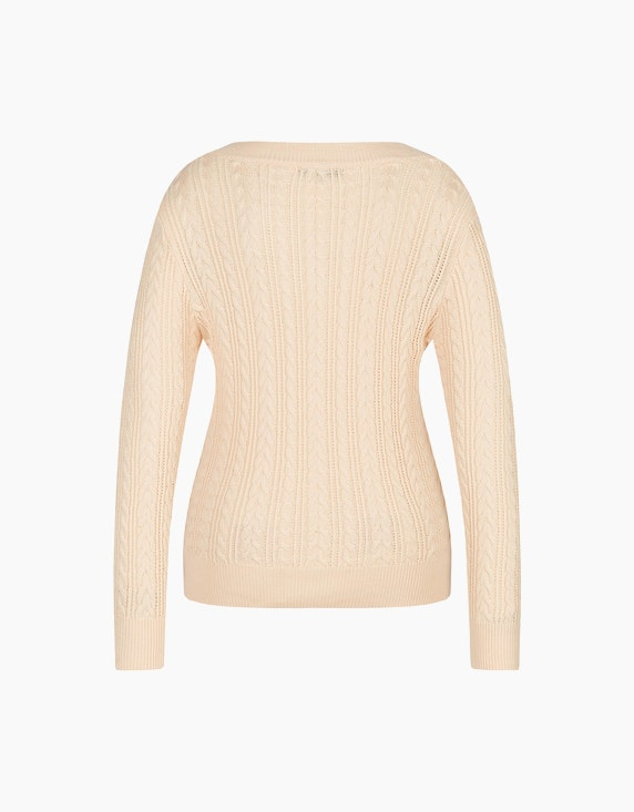 MY OWN Pullover im Muster-Mix | ADLER Mode Onlineshop