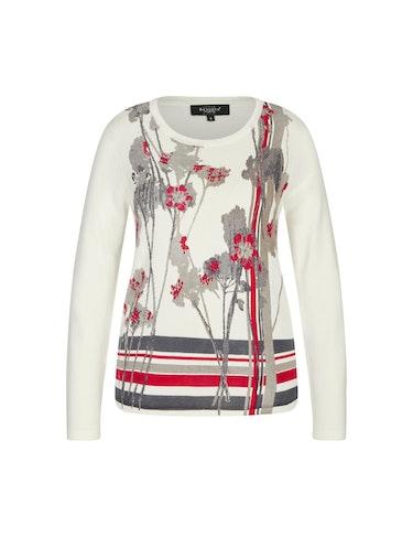 Produktbild zu Pullover mit Blumenprint von Bexleys woman