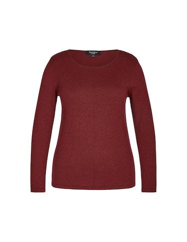 Produktbild zu Pullover mit Ziernaht auf der Front von Bexleys woman