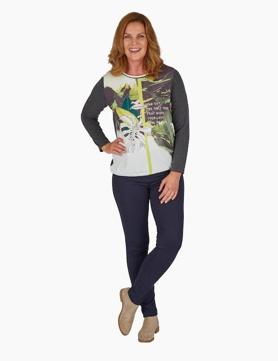 Steilmann Woman Feinstrick-Shirt mit Tunnelzugsaum   ADLER Mode Onlineshop