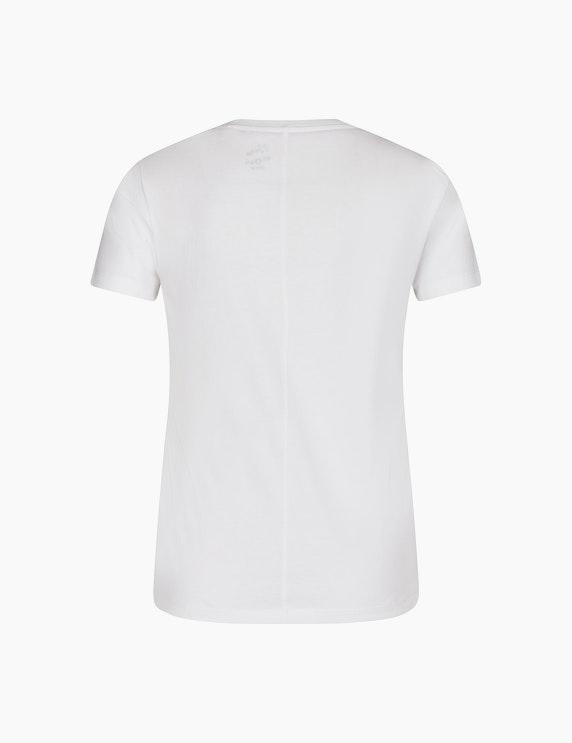 MY OWN Shirt mit Wording und floralem Frontprint | ADLER Mode Onlineshop