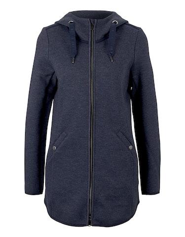 Produktbild zu Long-Jacke aus weichem Fleece von Tom Tailor