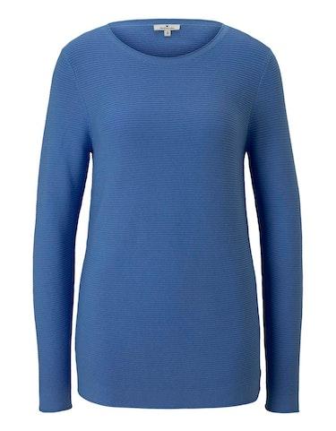 Produktbild zu Pullover aus reiner Baumwolle von Tom Tailor