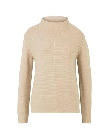 Produktbild zu Strukturierter Pullover mit Bio-Baumwolle von Tom Tailor