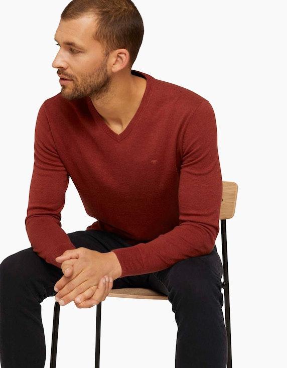 Tom Tailor Melierter Strickpullover   ADLER Mode Onlineshop