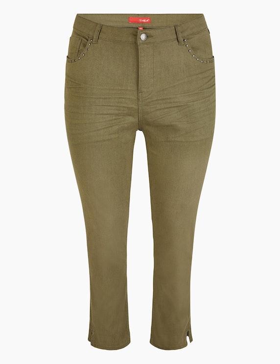 Thea 5-Pocket Jeans mit Crash-Effekt | ADLER Mode Onlineshop