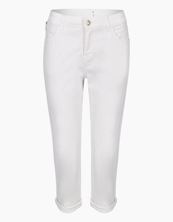 MY OWN Capri-Jeans, Baumwoll-Stretch in Denim White | ADLER Mode Onlineshop