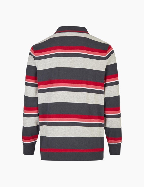 Bexleys man Modisch gestreiftes Sweatshirt   ADLER Mode Onlineshop